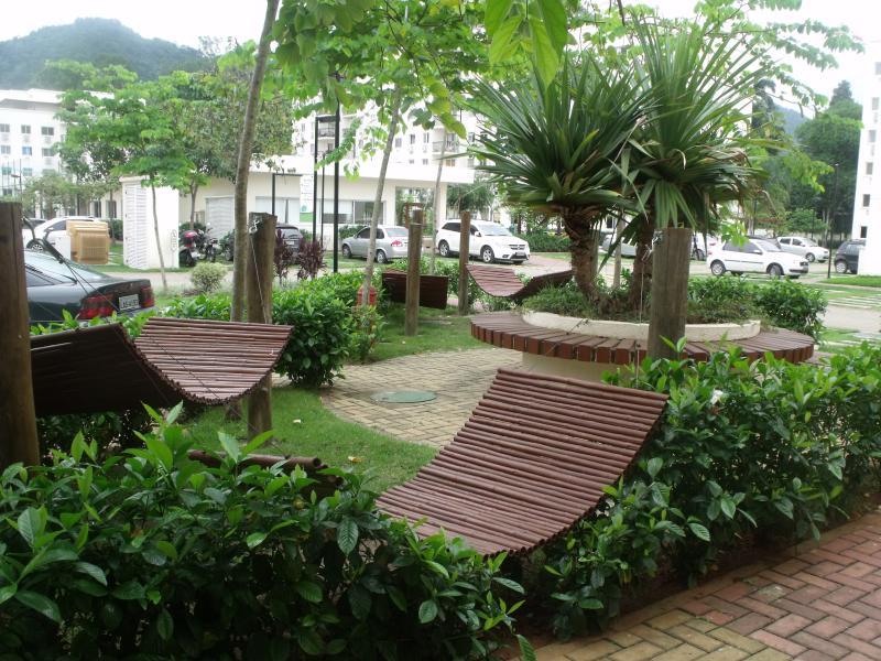 Hamacs, outre un parking pour les visiteurs