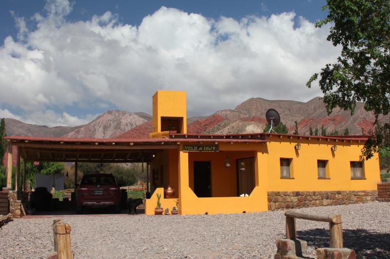 Uquía, Cabañas Vasija de Cobre - Cabañas I y II, alquiler de vacaciones en Norte de Argentina