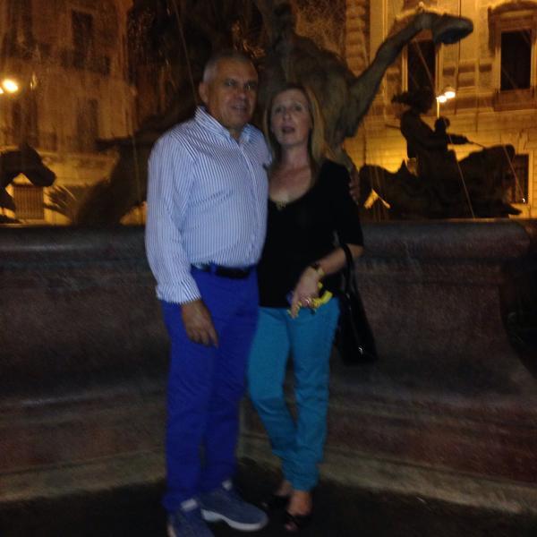 Io e mio marito:  passeggiata a Siracusa.