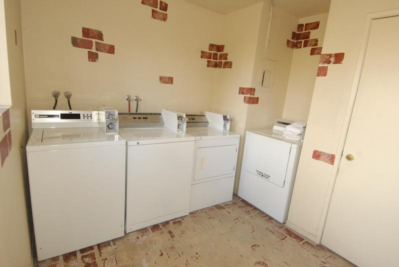 Coin operated Laundry Facility in the complex