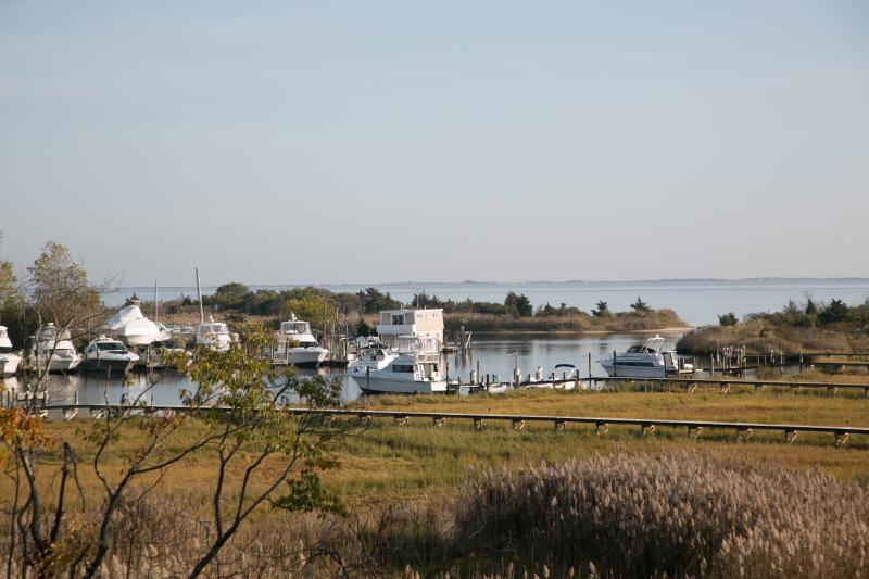 Private 5 acre  Estate 2nd Floor - Suite w/Private deckoverlooking  Great South Bay  & Fire Island