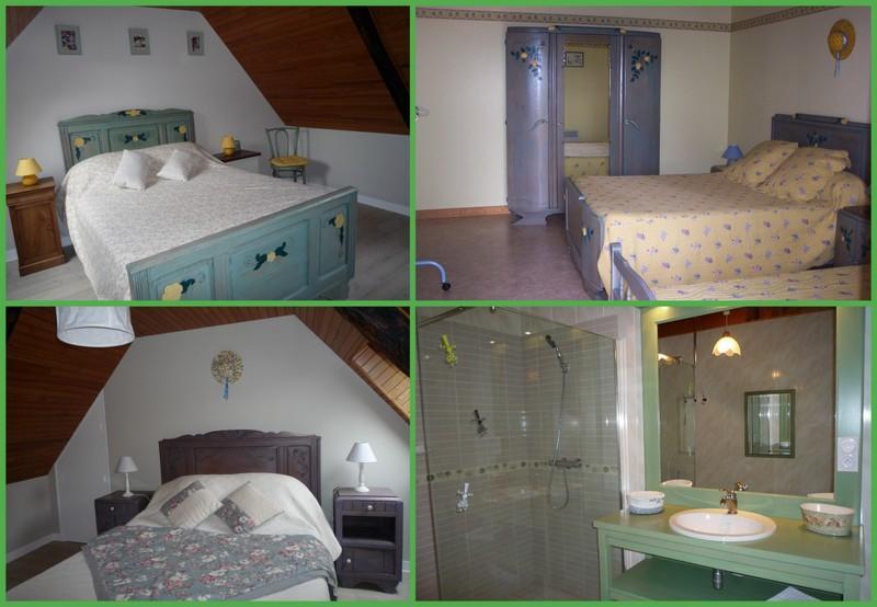 Chambres + salle d'eau