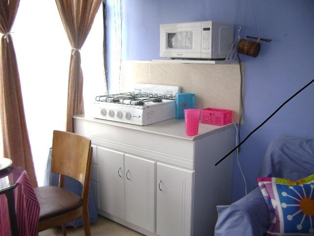 Kitchen with Microwave Triple Distribution System.