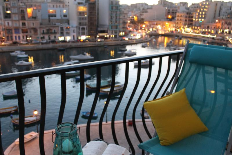The best part of the apartment, where you can enjoy sunrise, sunset on the deckchair and dream!