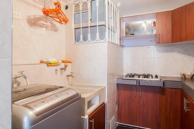 Relax and Save Money with FULLY EQUIPPED   KITCHEN with microwave,fridge, stove, crockery, cutlery..