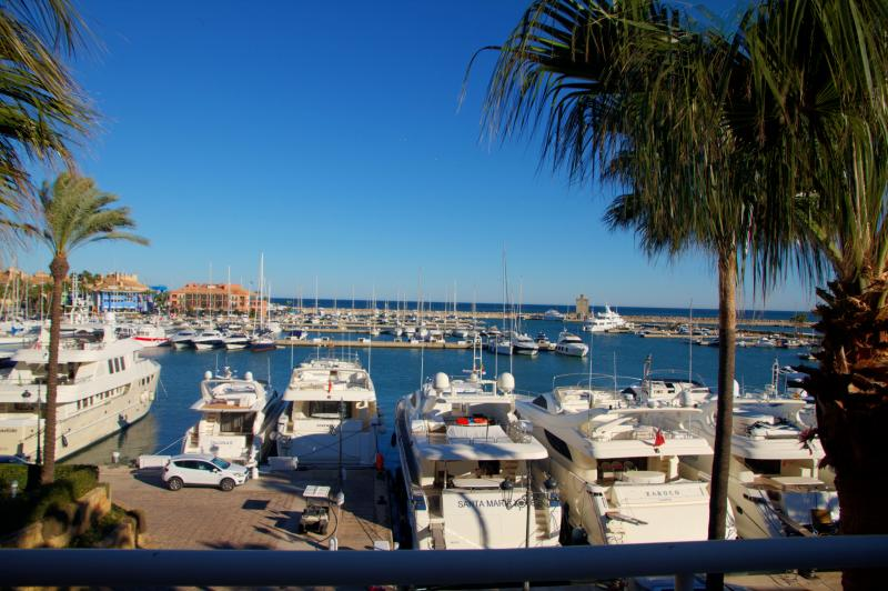 Beautiful sea and Marina views from the Penthouse