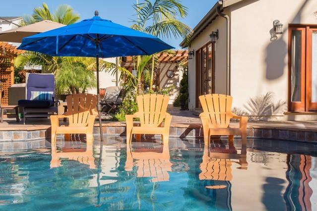 Sparkling piscina pulita