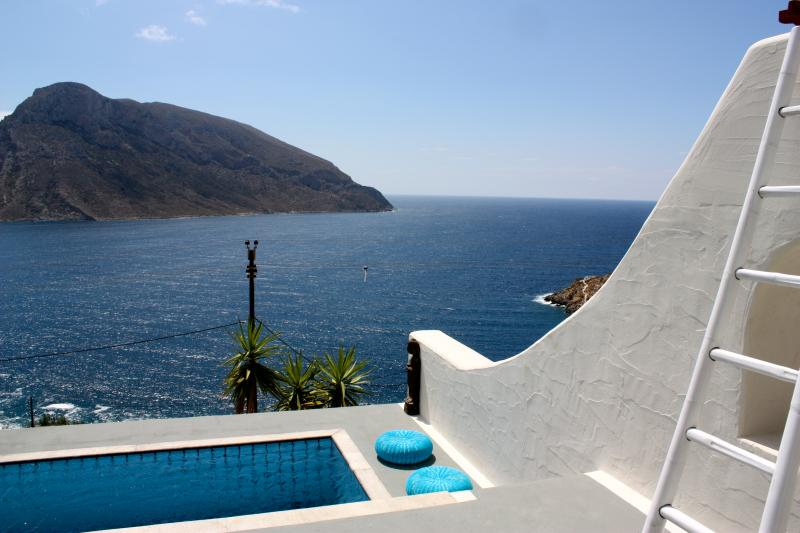 Private Pool with views of the Aegean
