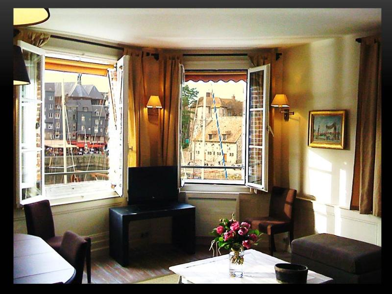 Le vieux bassin, holiday rental in Honfleur