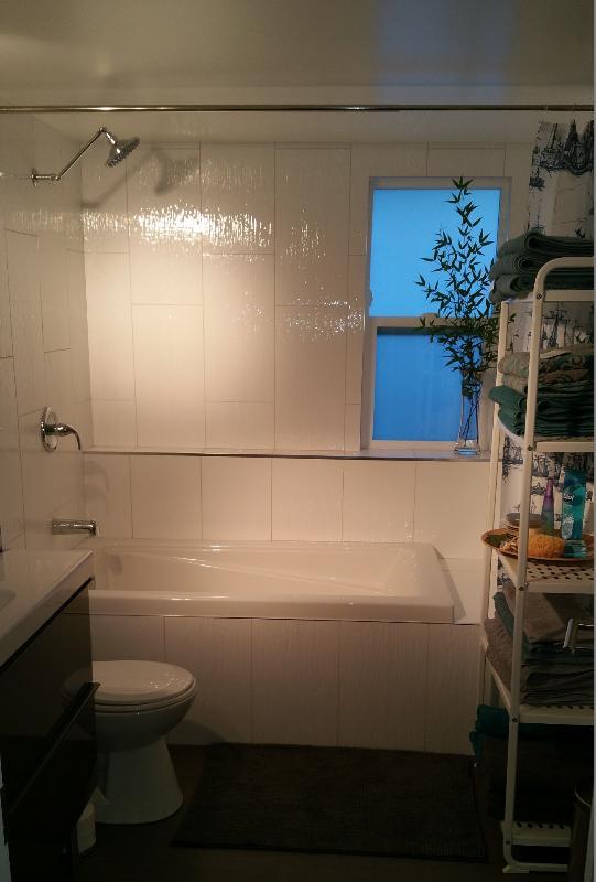 New Bathroom with bathtub  and shower