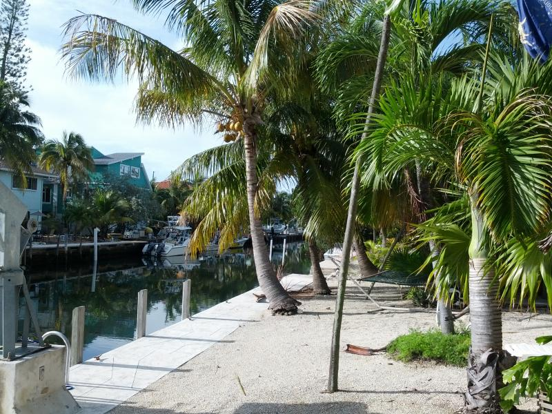 Waterside - 75ft private dock, pea coral beach area for hanging