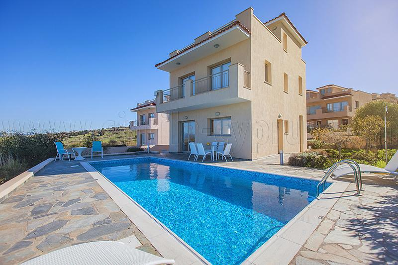 Each Villa has sea views and pool - For Prices and Availability Click on Links Below