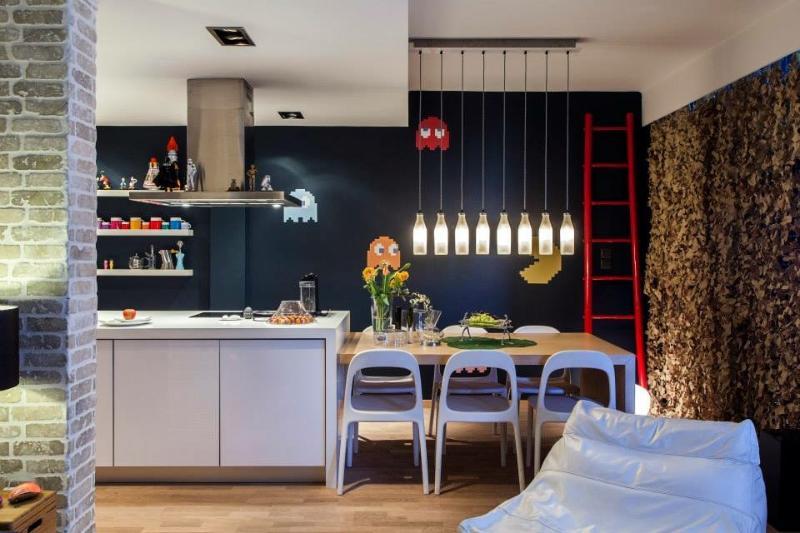 beautiful loft style appartment in Thessaloniki, holiday rental in Vasilika