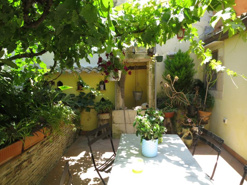 Private courtyard only for our guests.. access from the Kitchen
