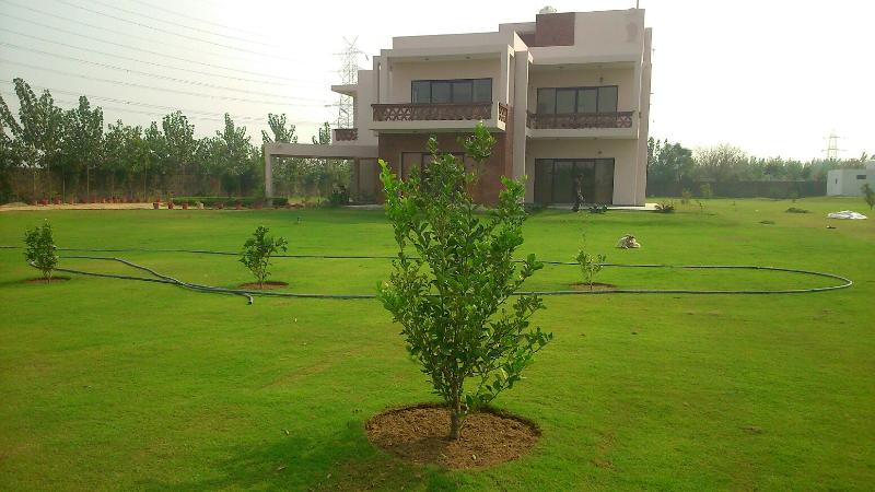 The Golf Retreat: Peaceful Farmhouse With Pool, vacation rental in Gurugram (Gurgaon)