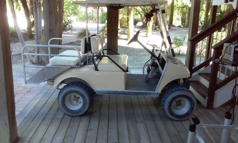 Your golf cart,