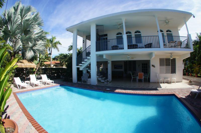 Large private pool and plenty of outdoor furniture