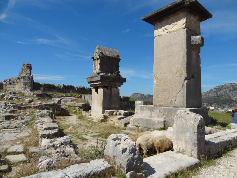 Les ruines à Xanthos