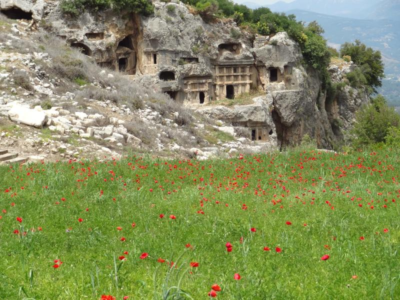 Les ruines de Tlos