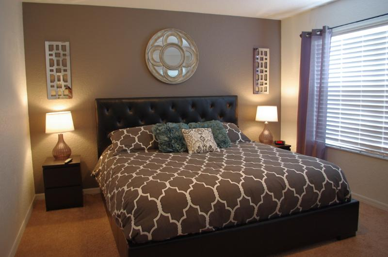 Master retreat with King bed