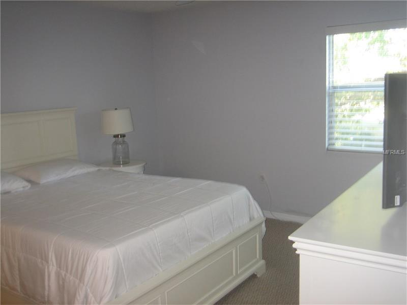 Master Bedroom with 40' Flat Screen