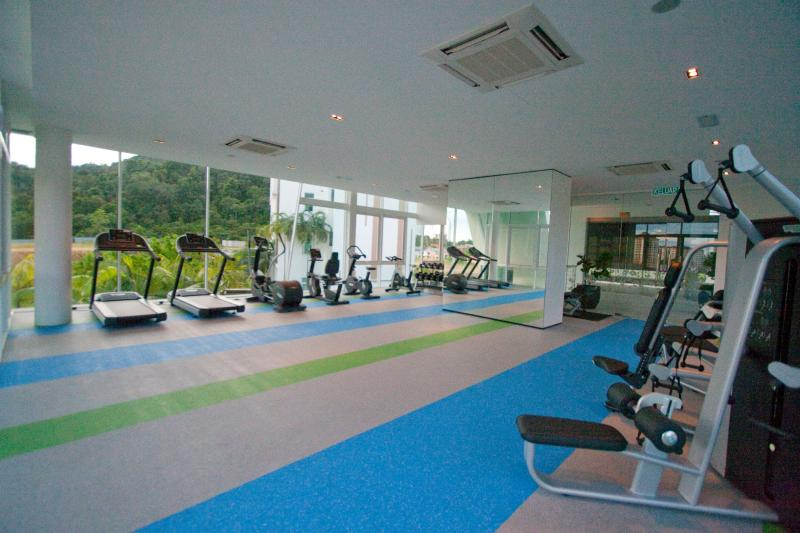 The fitness studio