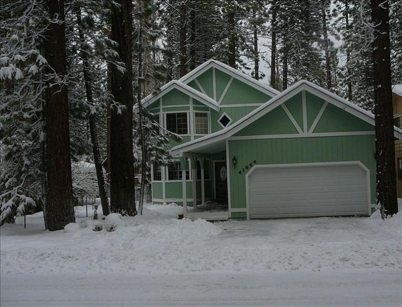 View of Home During Winter