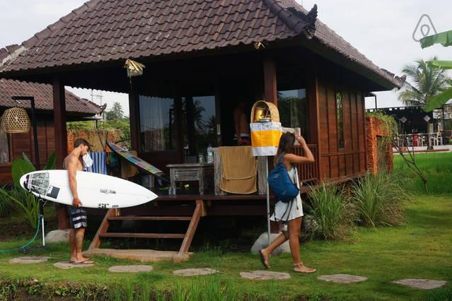 keramas surfcamp bali at rice padi, vacation rental in Keramas