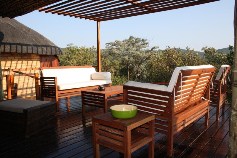 Luxury family retreat, with an exotic view of our Waterberg Mountains