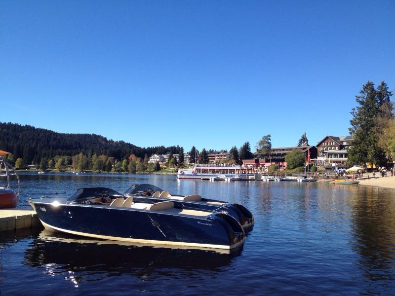 E-Yachst for rent at Lake Titisee
