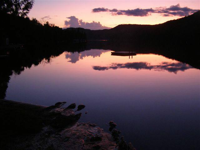 Peaceful retreat 8 minutes from Mont Tremblant, vacation rental in Lac-des-Plages