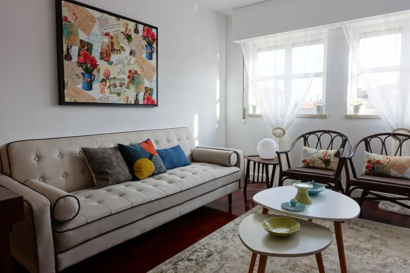 Zona da sala: Sala de estar (sofá cama)