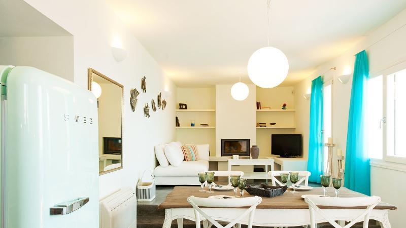Dining Area  | Athina Ios Villa | Luxury Villa in Ios Island