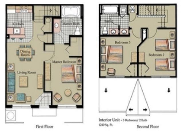 3 bedroon floor plan