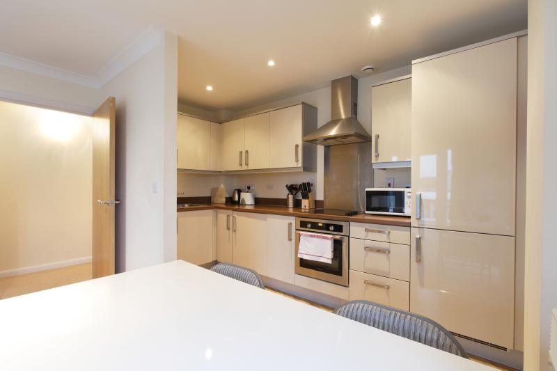 Kitchen area to include dishwasher, fridge/freezer, microwave, dishwasher and washer/dryer.