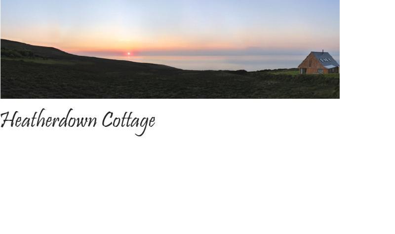 Morayshire Cottage schönen Sonnenuntergang