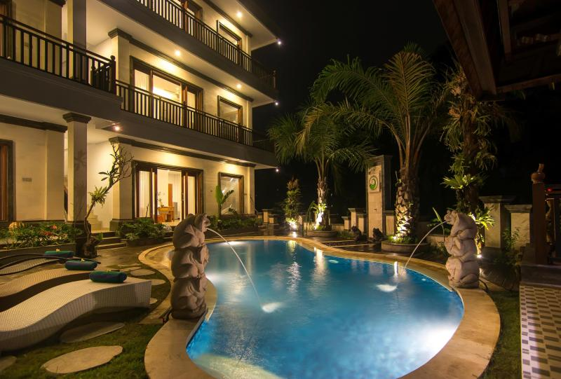 Area della piscina porta