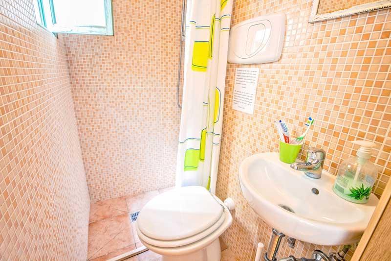 Bagno privato della stanza Kiwi