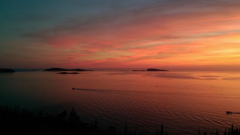 Sunset in Mlini