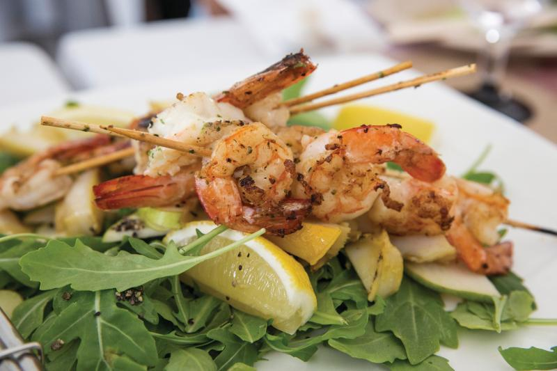Kangaroo Island is blessed with abundant fresh seafood.