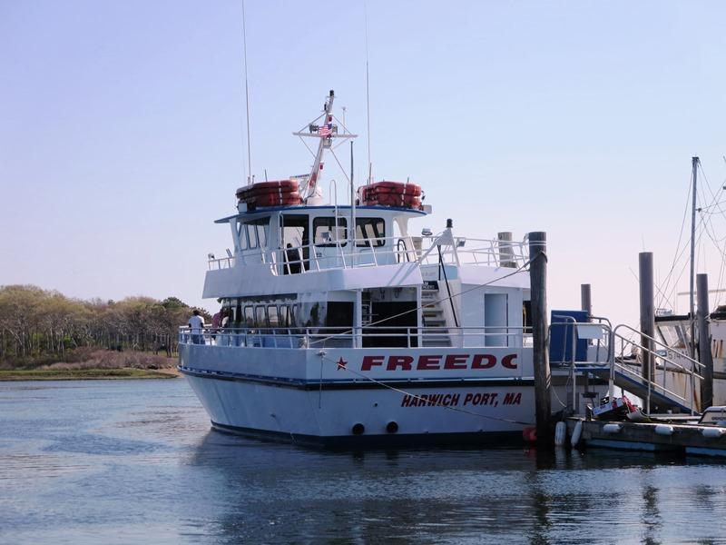 Prenez le ferry de la liberté pour une excursion d'une journée à Nantucket par Brax Landing in Harwich- Cape Cod - Nouvelle-Angleterre Locations de vacances
