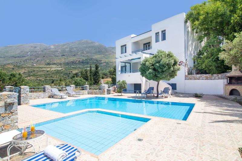 Wind Seaview Villa, Plakias Rethymnon Crete, aluguéis de temporada em Plakias