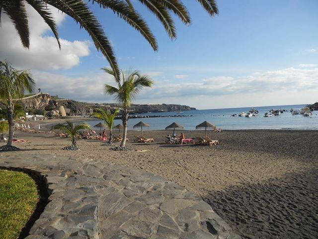 The relaxing beach in our beautiful town of Playa San Juan