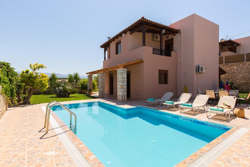 San Antonio Villa, Panormo Rethymnon Crete, alquiler vacacional en Roumeli