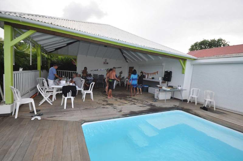 Casa de la piscina
