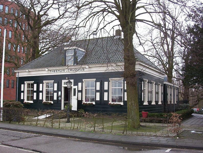 Teahouse next to Cruquius museum