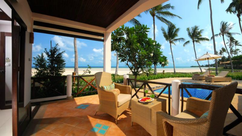 Beachfront 1 bedroomed Oceanview room
