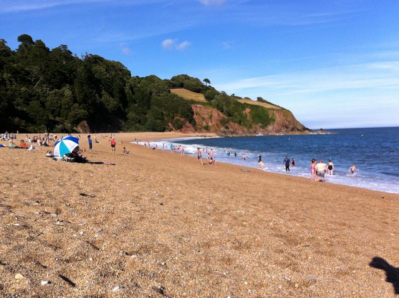 Beautiful Blackpool Sands only a short drive away!