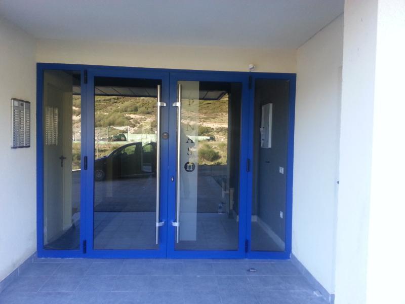 Zugang-Gebäude