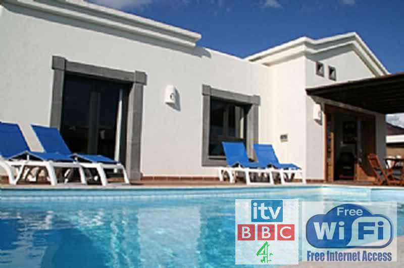 Heated Pool + Free Wifi + UK TV